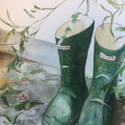 Garden Work Boots